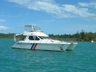 Venturer 38 POWER CATAMARAN- Click for more info...