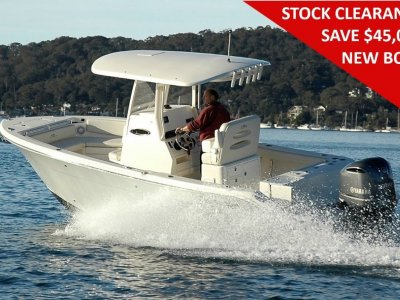 Cobia 240 Centre Console - In Stock