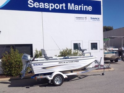 Savage 405 Raptor Pro boat package