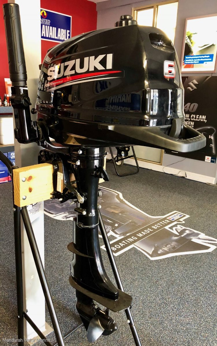 6hp NEW Suzuki 4 Stroke Outboard - 4 Only