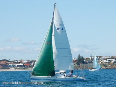 Whiting 32 Racing yacht