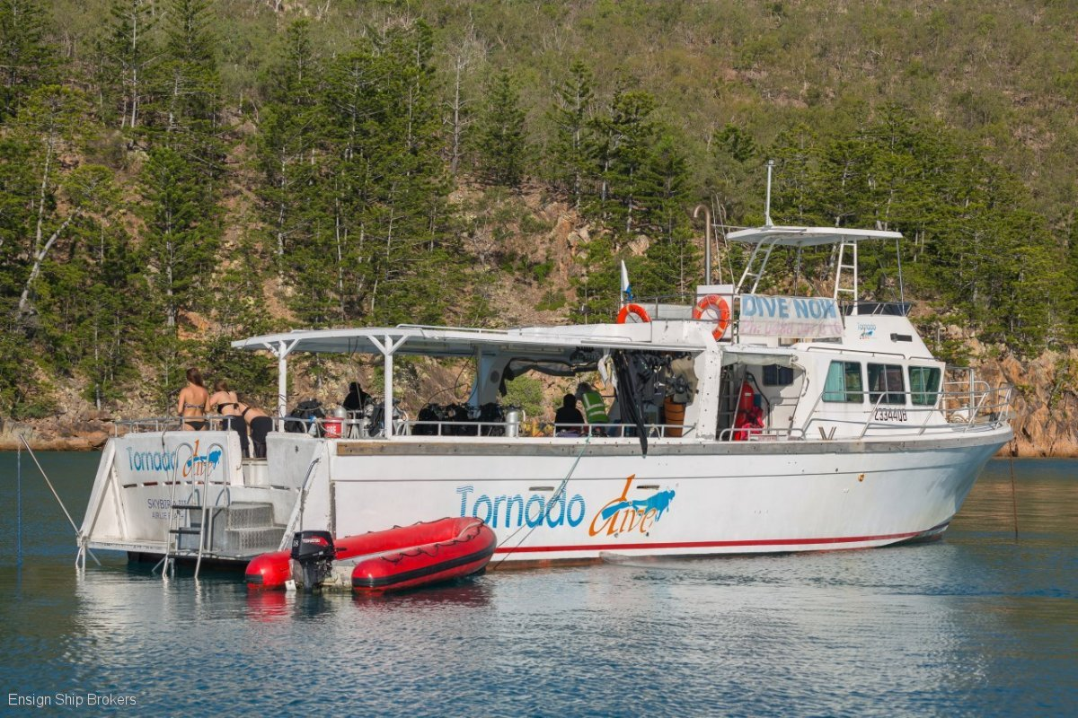 Westcoaster Charter 58' Dive Vessel