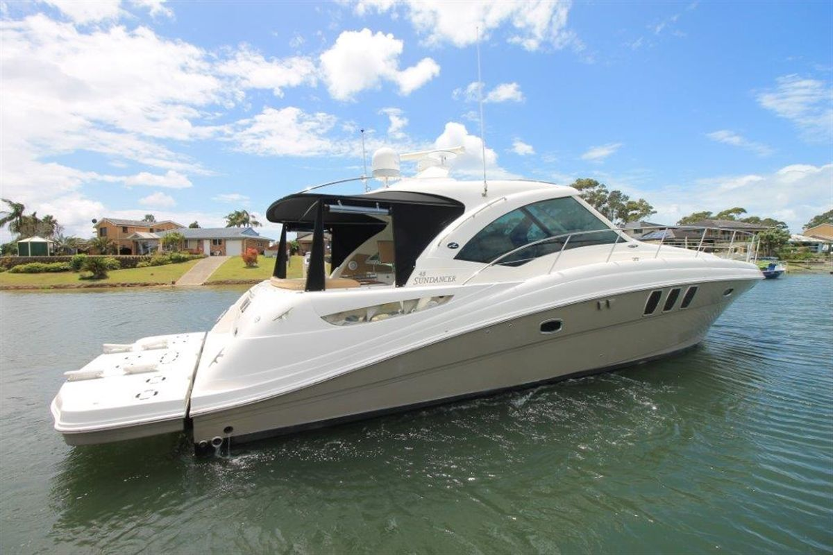 Sea Ray 515 Sundancer Power Boats Boats Online For Sale