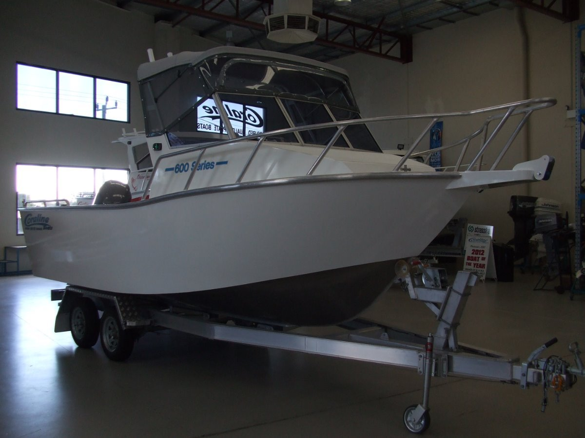 Coraline 600 Series Offshore Runabout
