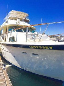 Hatteras Motor Yacht