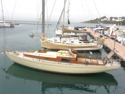 Randell 33 built by Les Steel - Classic Fast Cruiser