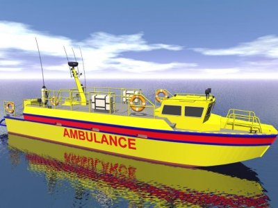 Sabrecraft Marine Ambulance Rescue Boat 15000 Mono