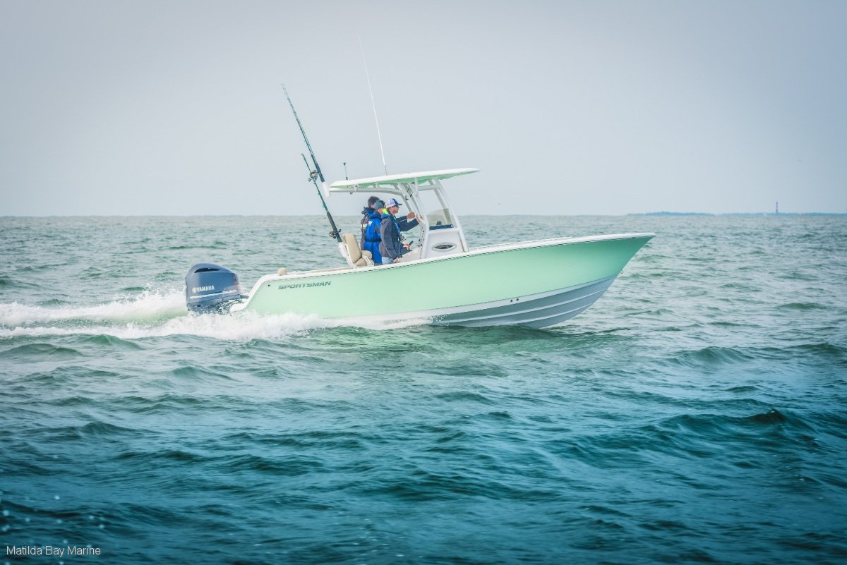 New Sportsman Open 242 Centre Console
