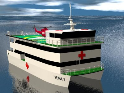 Sabrecraft Marine Hospital Ship 28.00m
