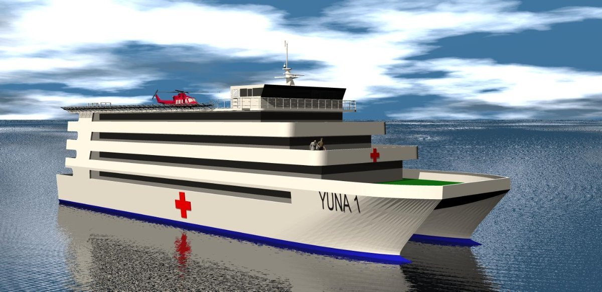 Sabrecraft Marine Hospital Ship 60.00m