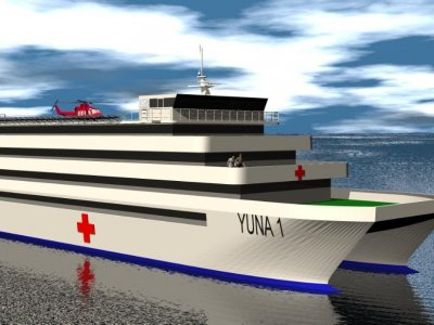 Sabrecraft Marine Hospital Ship 60.00m