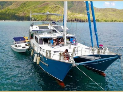 60ft Steel Expedition Sailing Cat
