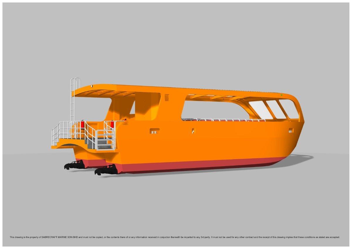Sabrecraft Marine Ferry 12000 40 Passenger