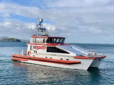 15.15m Search & Rescue Alloy Catamaran