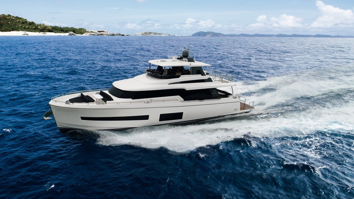 New Horizon Yacht V68