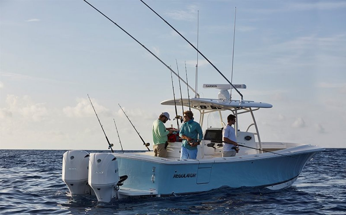 Regulator 31 - Suit Boston Whaler and Grady White buyers