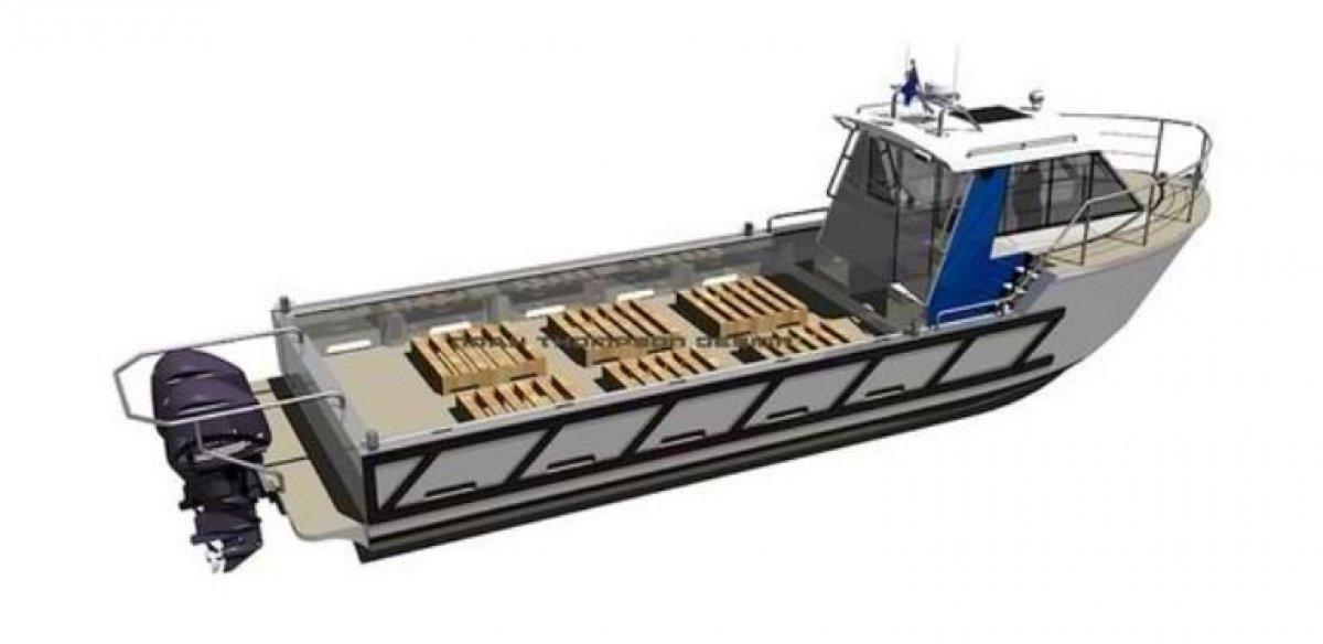 Sabrecraft Marine 12.5m Work Boat - M Hull