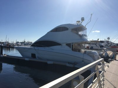 Maritimo A50 Aegean Enclosed **Antifouled & full service last month**
