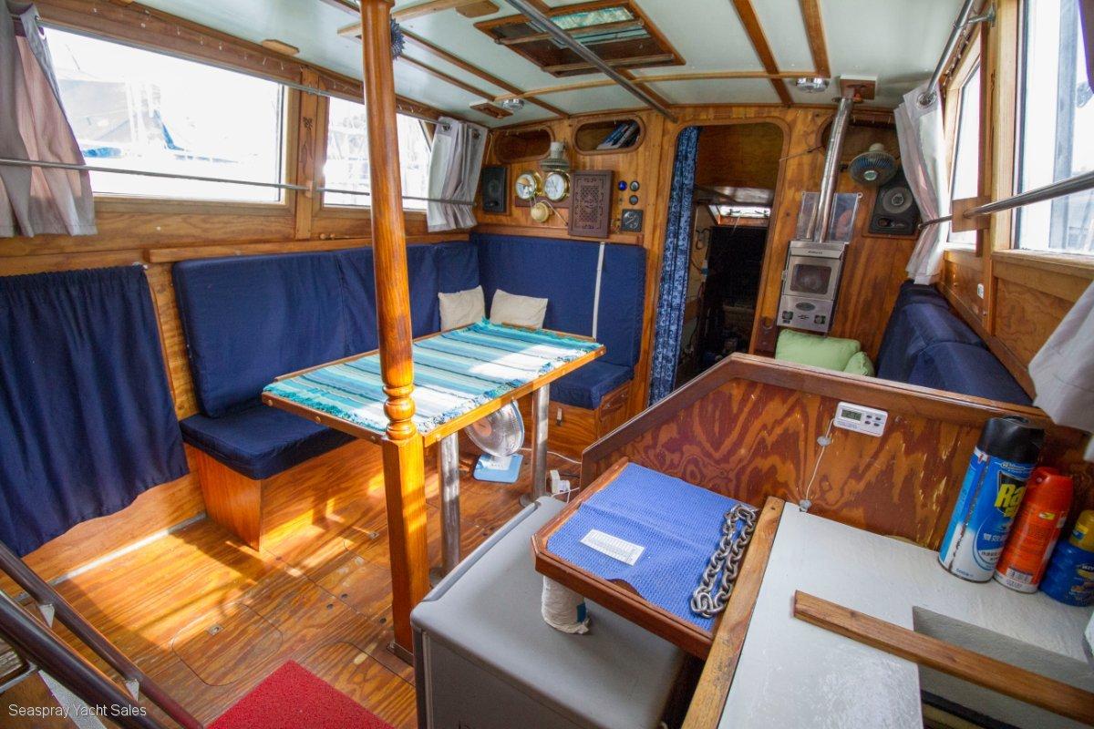 John Pugh Fairwind 46 Steel Boat for sale in Malaysia.