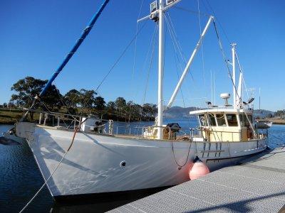 Bernard Wilson Ex Cray Boat