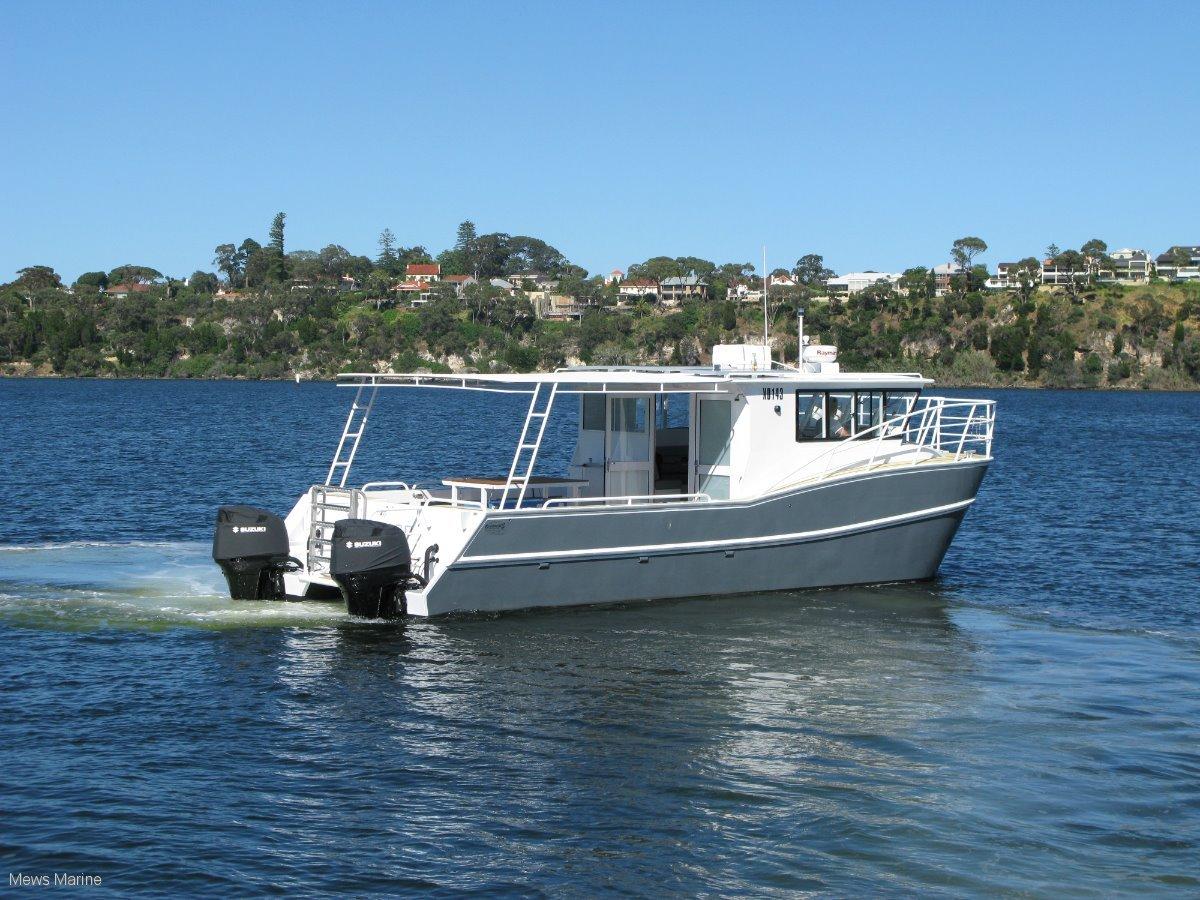 Oceancat 10.5 alloy offshore cat