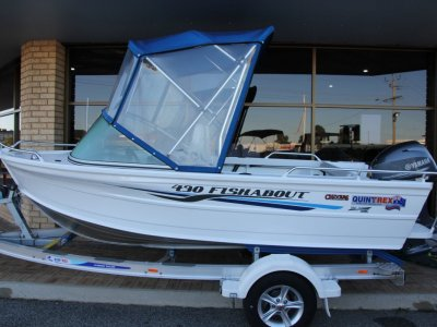 Quintrex 430 Fishabout - End of Financial Year Sale Save $4,567!