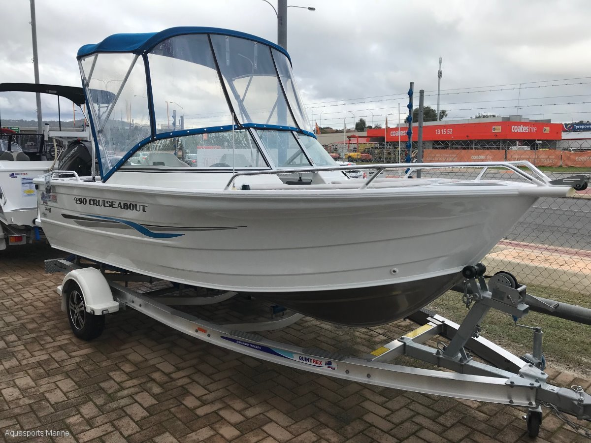 New Quintrex 490 Cruiseabout