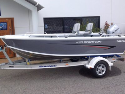 Savage 435 Scorpion Ts Pro Dinghy Package