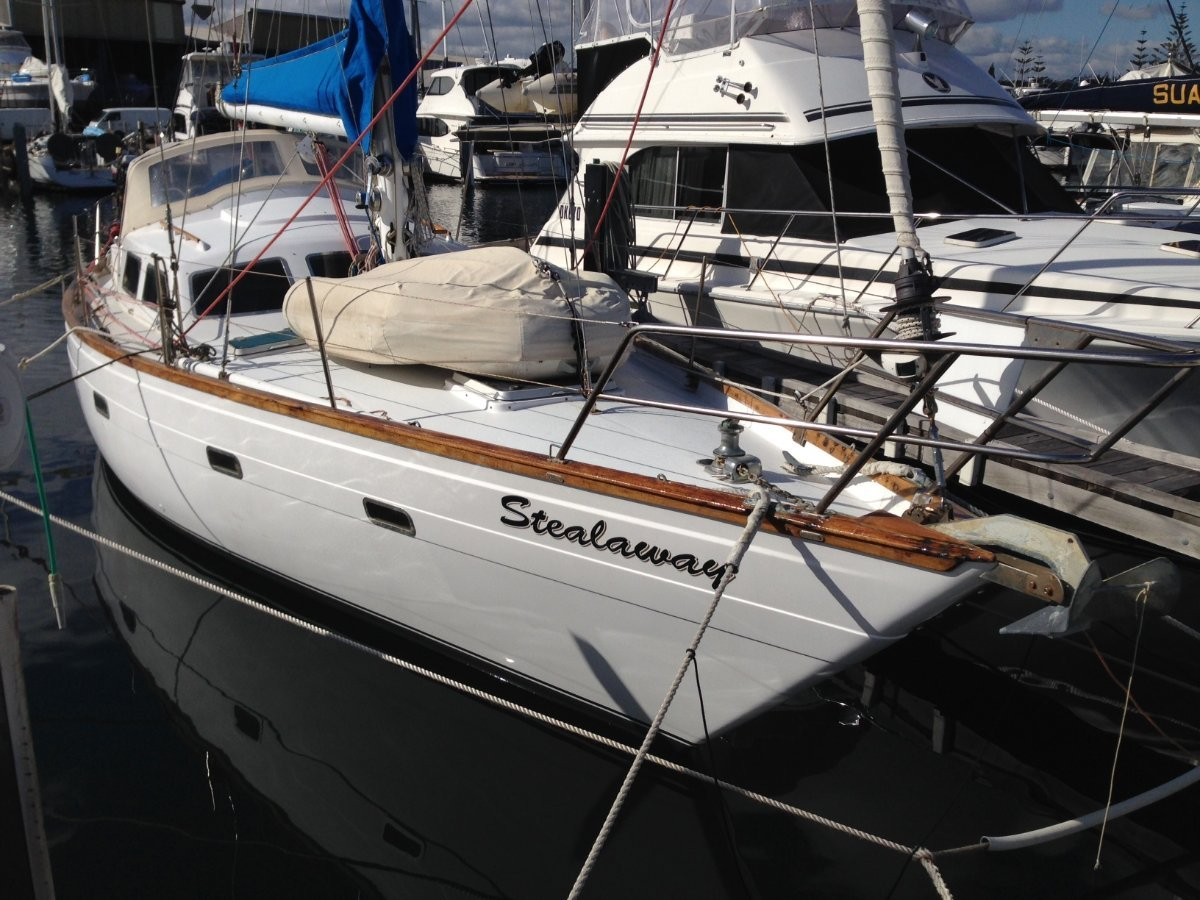 Duncanson 40 Deck saloon long distance cruising yacht