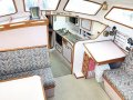 Duncanson 40 Deck saloon long distance cruising yacht: View from companionway