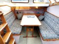 Duncanson 40 Deck saloon long distance cruising yacht:Deck saloon dinette