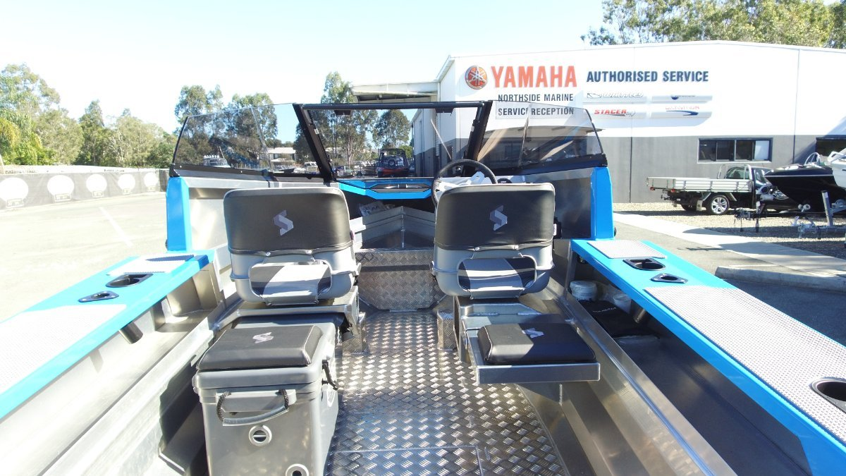 Stabicraft 1550 Fisher + Yamaha F60LB 60hp 4-Stroke