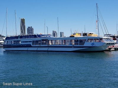 Wavemaster Viewing Passenger Dining Vessel BARGE LOW PROFILE