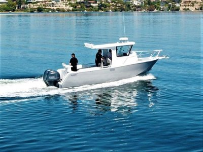 Air Rider 7.5m Island Cabin ALL OFFERS PRESENTED