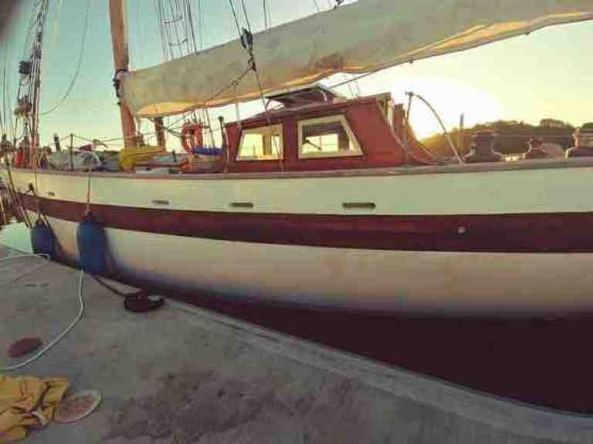 14m Laurent Giles Gaff Rigged Cutter