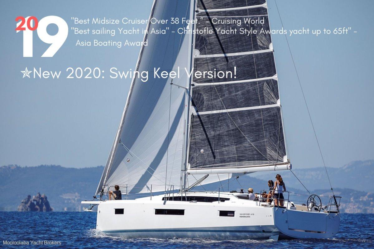 Jeanneau Sun Odyssey 410 NEW Model