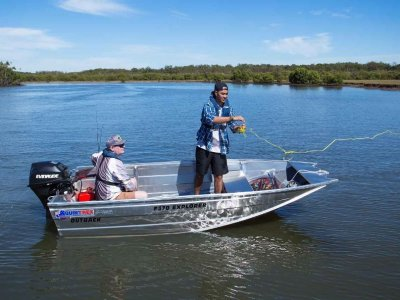 Quintrex 370 Explorer Outback