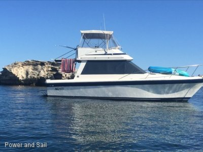 Riviera 34 Flybridge Cruiser **Re powered 2016 Diesels and dry stacked**