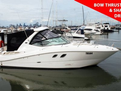 Sea Ray 310 Sundancer - WITH SHAFT DRIVE & BOW THRUSTER