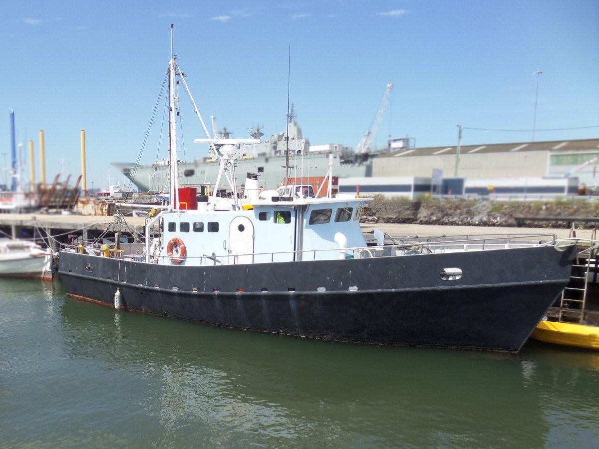 96ead93c6d Steel Cruiser  Commercial Vessel