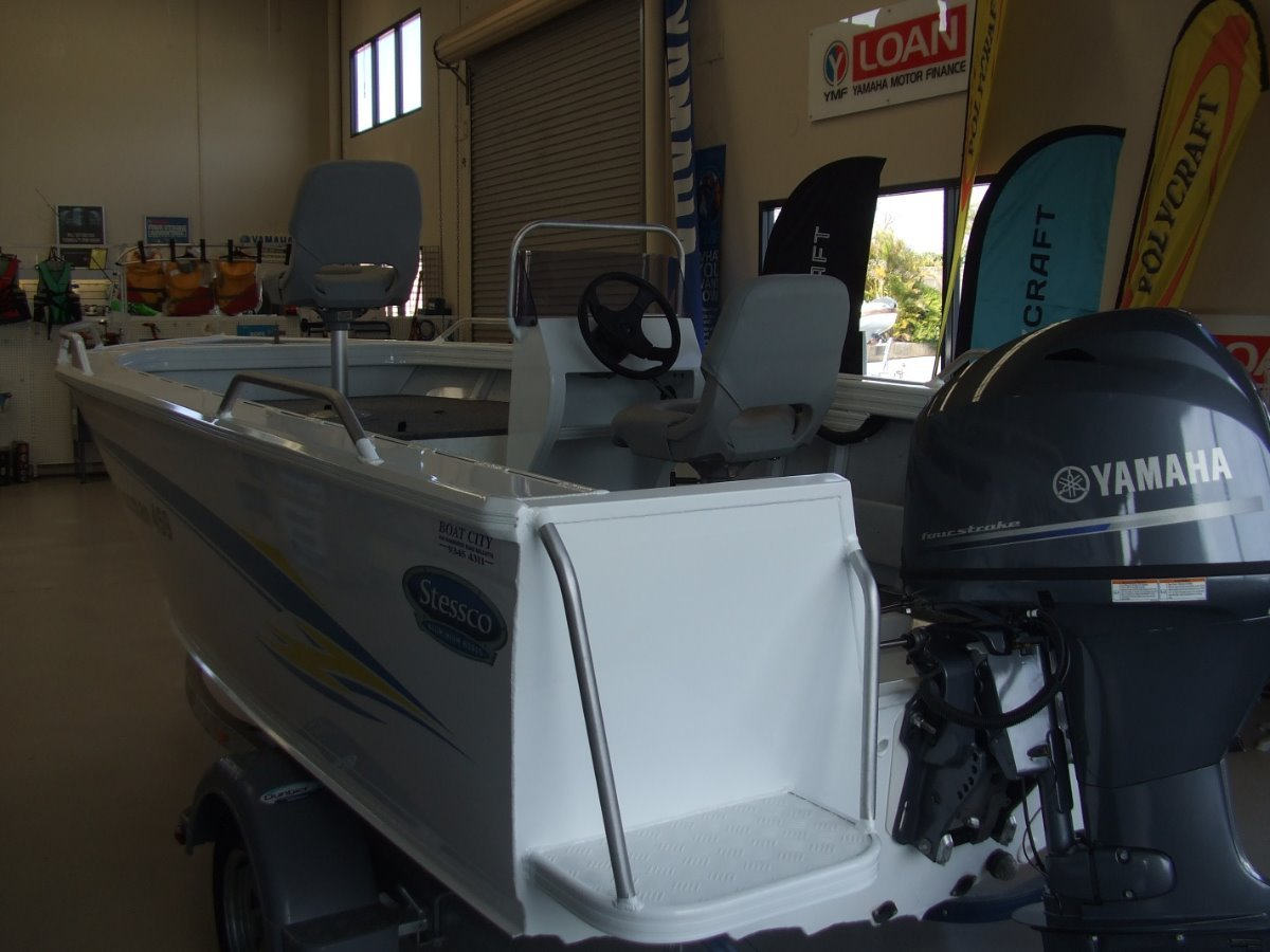 Stessco Fisherman 459 Side Console Dispay Model