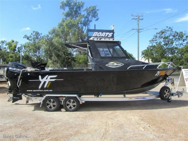 New Quintrex 7600 Yellowfin Southerner HT
