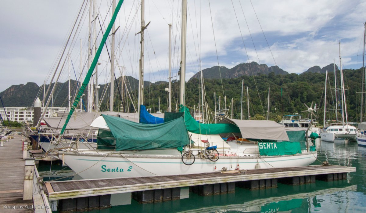Armel 40 for sale in Langkawi:Senta Armel yacht for sale langkawi