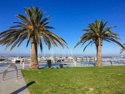 Modern Marina between Geelong and Melb