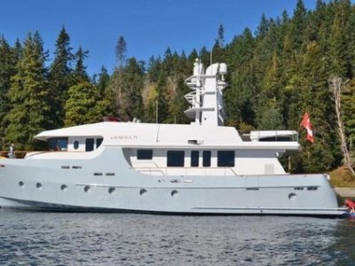 Cape Scott 86ft Long Range Luxury Motoryacht