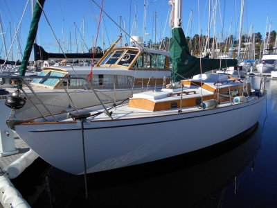 TASMANIAN HUON PINE YACHT in SUPERB CONDITION