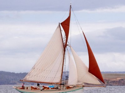 Iconic Gaff Cutter