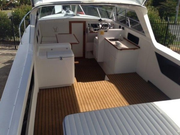 Caribbean 26 Open Hardtop with new FAB Dock