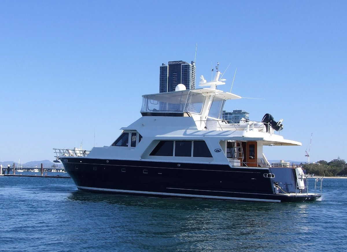 President 650 Legend 2006 Pilot house