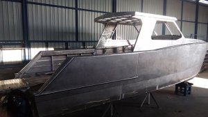Unfinished 9m Alloy Power Cat